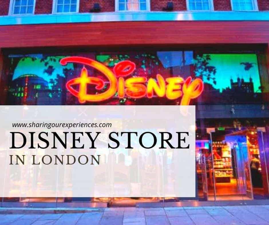 Disney store in London