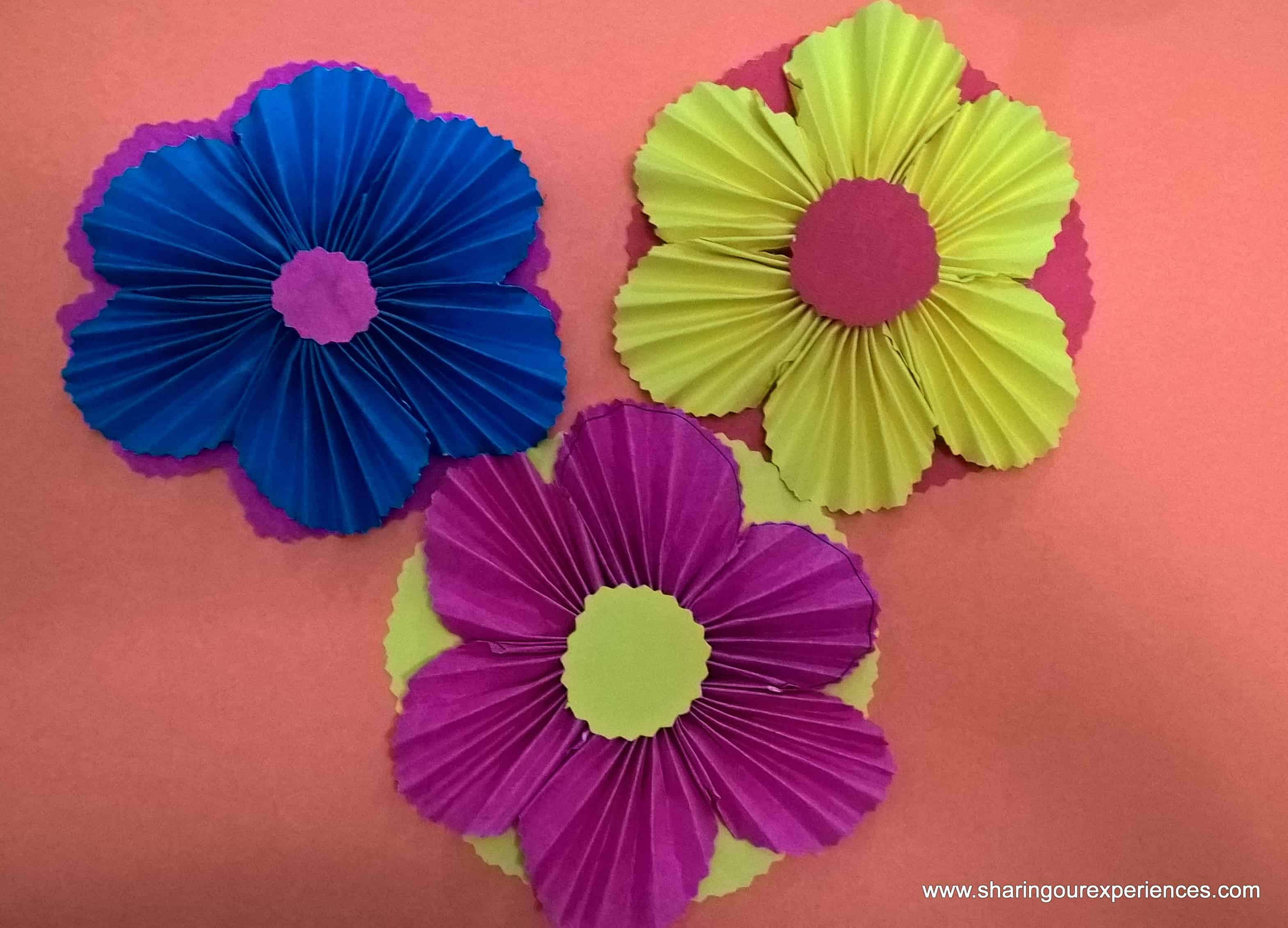 How to make Paper Flowers ? | Sharing Our Experiences