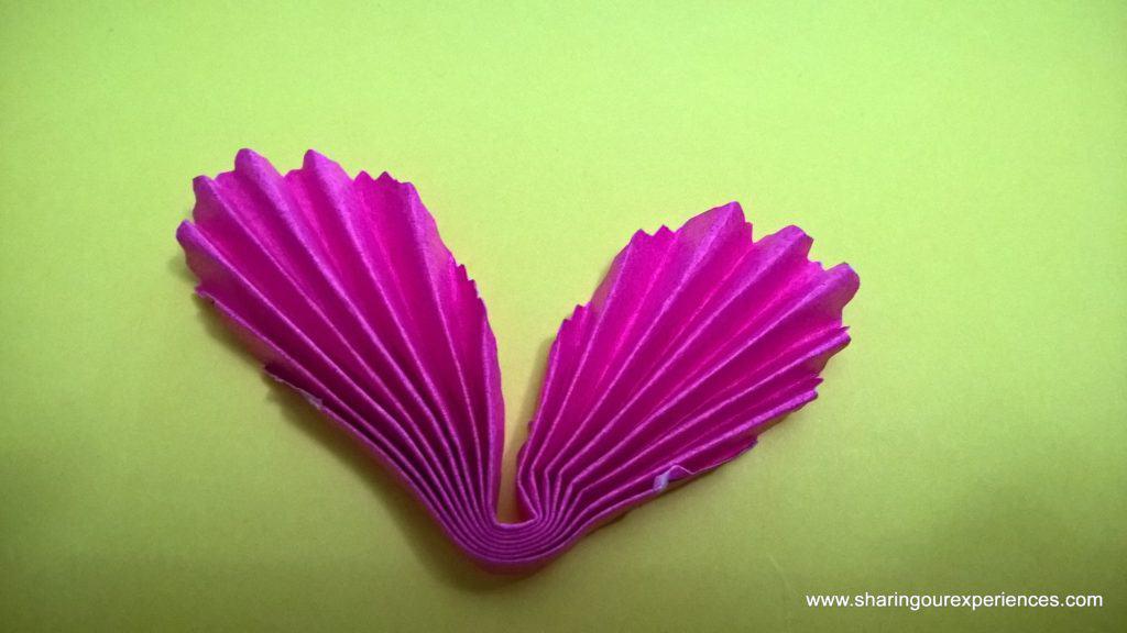 paper flowers tutorial 5