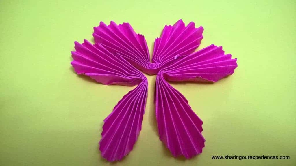paper flowers tutorial 7