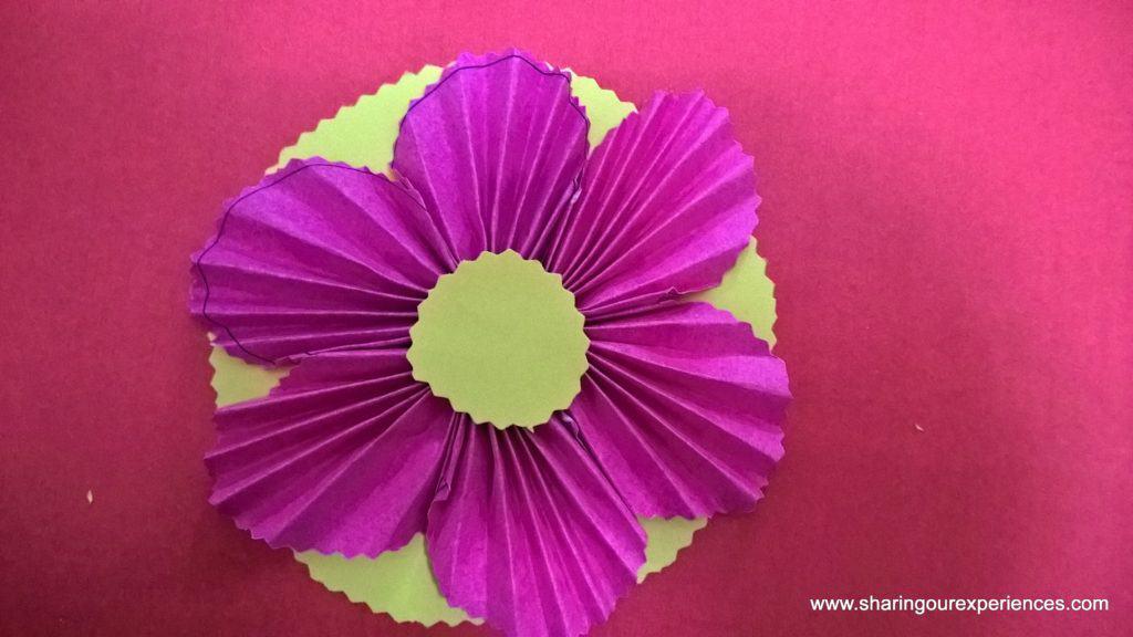 paper flowers tutorial 9