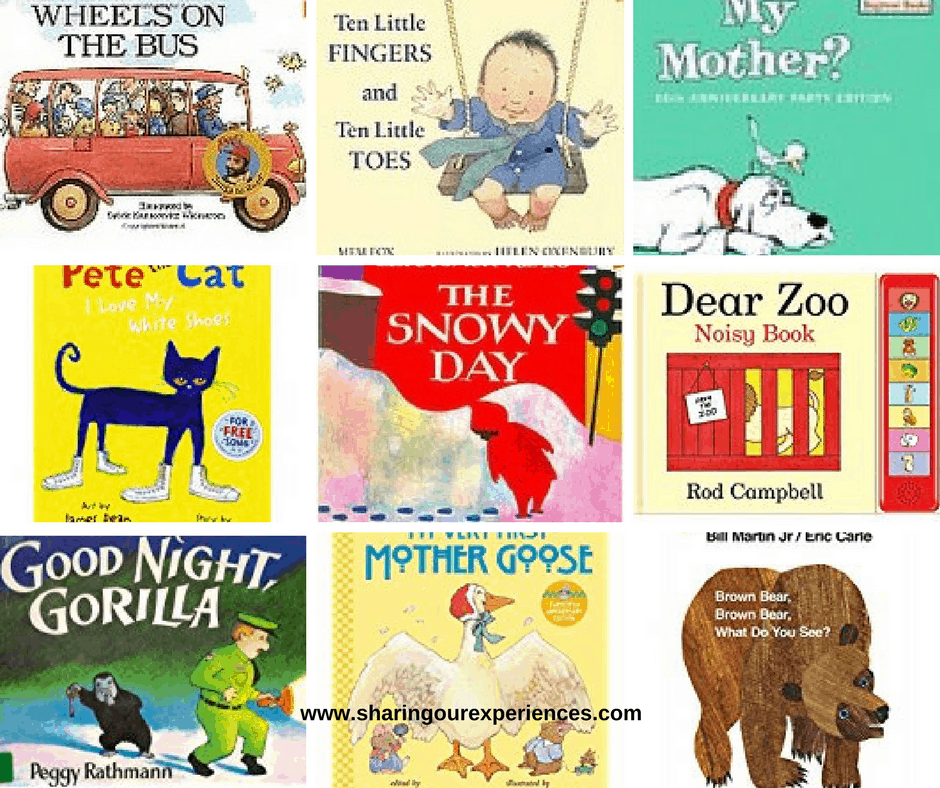 Books your one year old will love