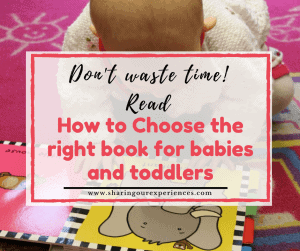 How to choose right books for babies and toddlers