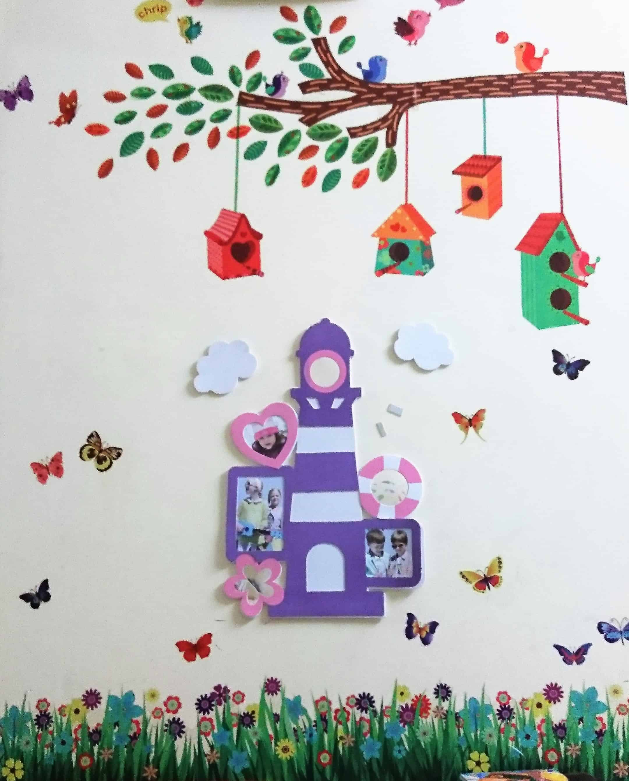 Very Easy Wall decor idea for kids room