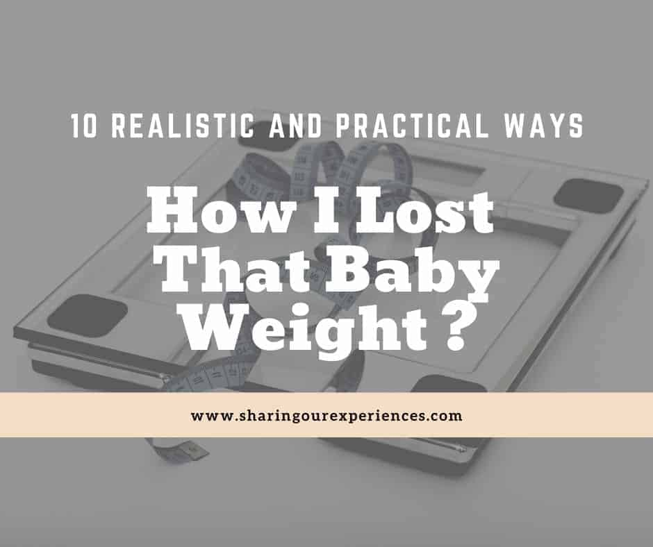 How to lose that baby weight
