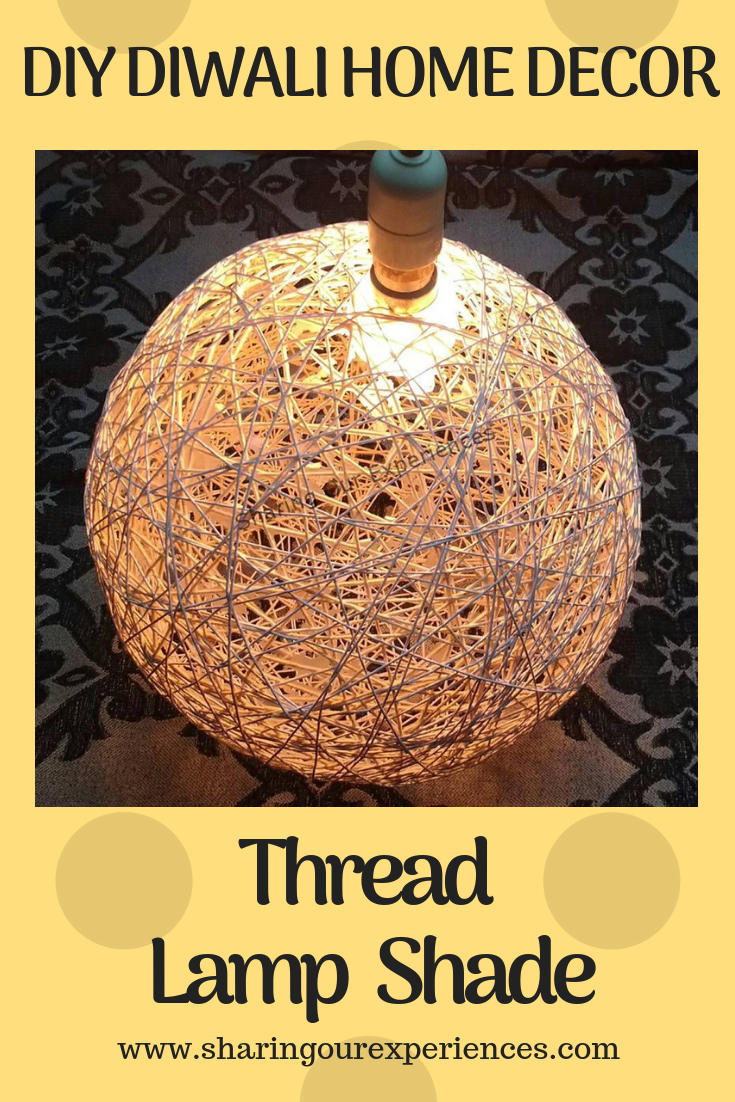 DIY Thread Lamp