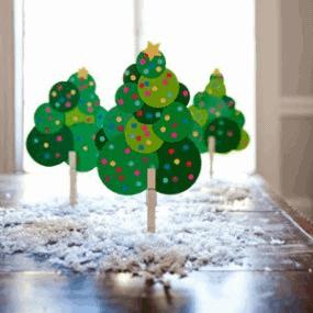 Circle Christmas tree 2