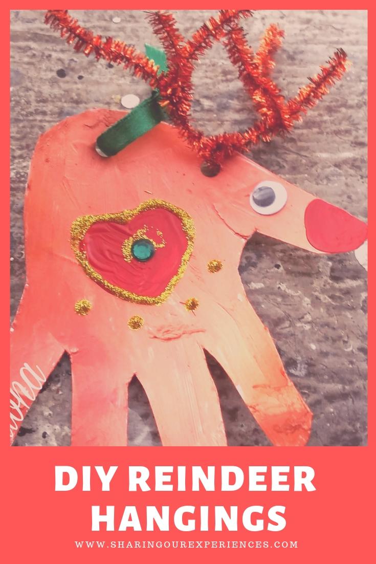 Diy reindeer hangings