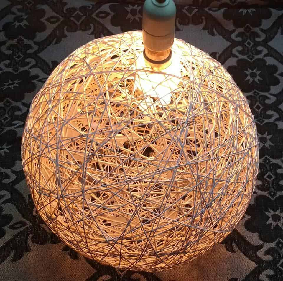 Thread Lamp
