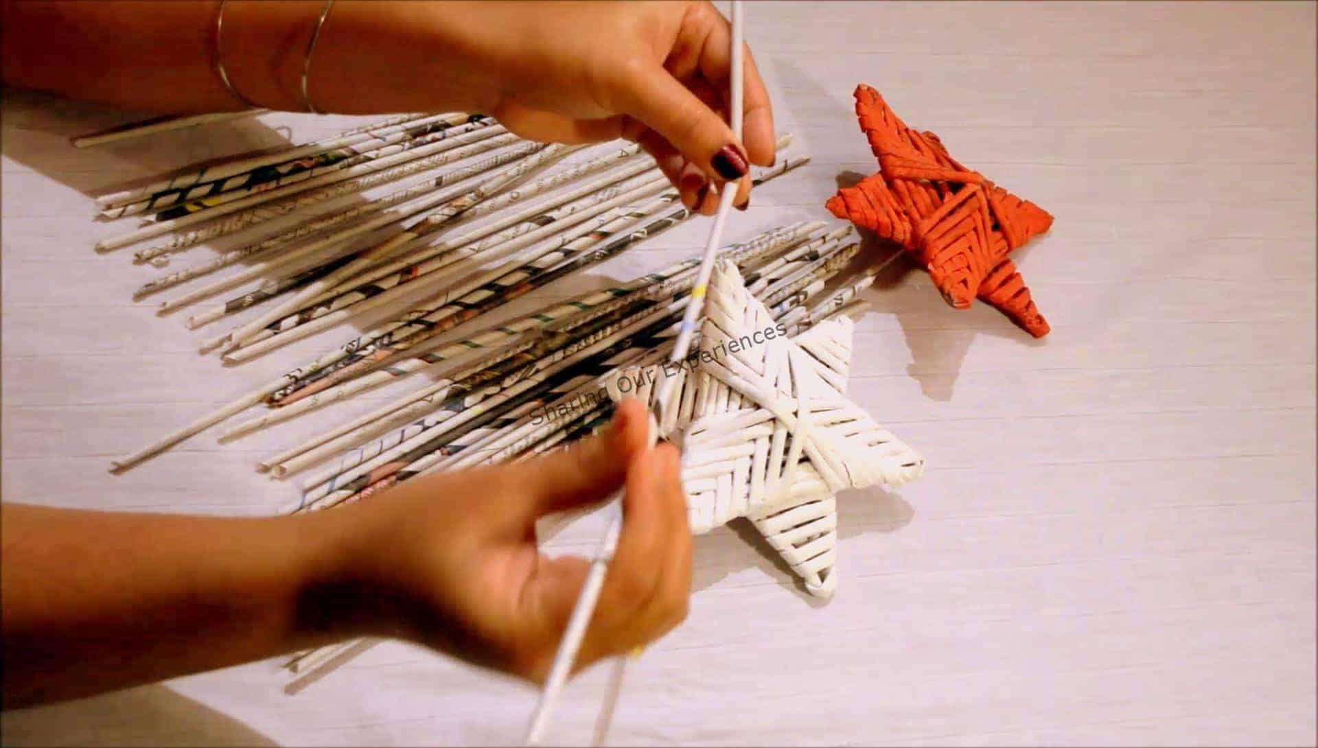 3D Christmas Paper Star
