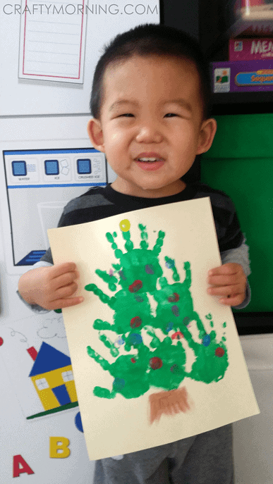 handprint-christmas-tree-kids-craft