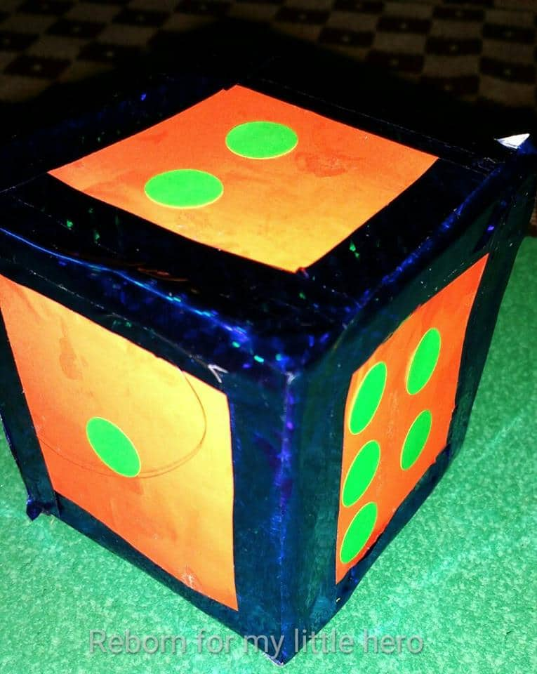 Giant DIY dice