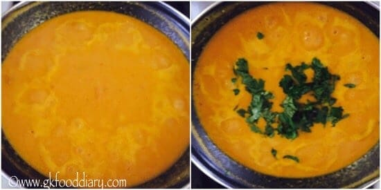 Sweet Potato Carrot Soup GK Food Diary