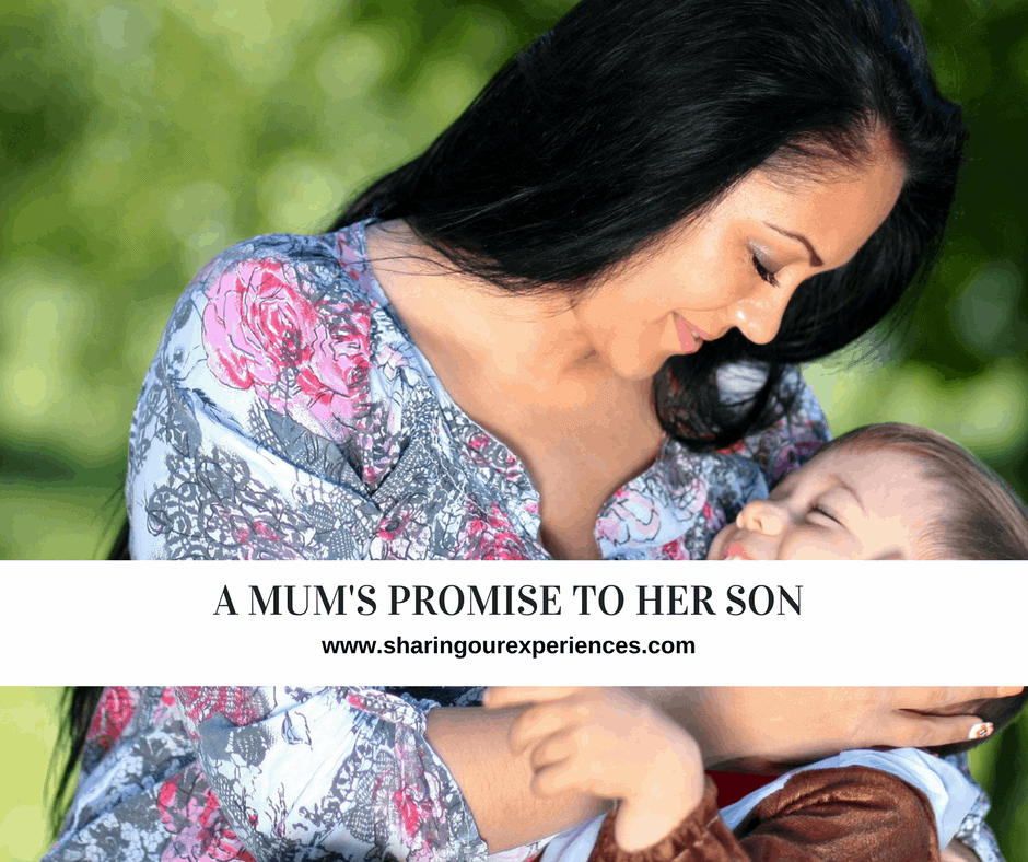 A Mum's Promise to her son