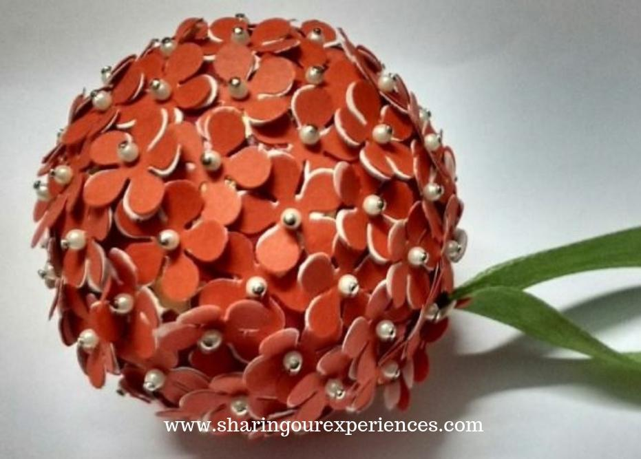 DIY Punch-Flower-Ball