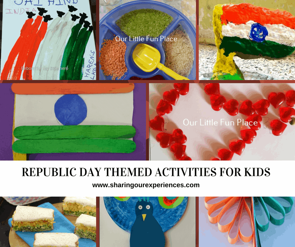 Fun Republic Day Themed activites