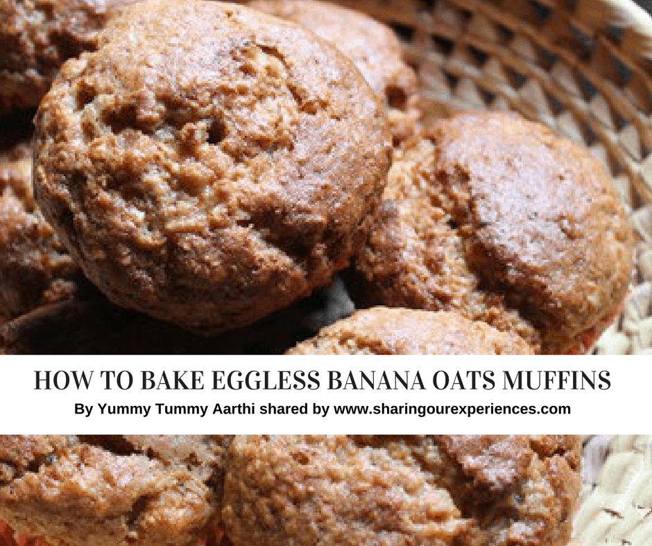 How to Bake banana oats muffins