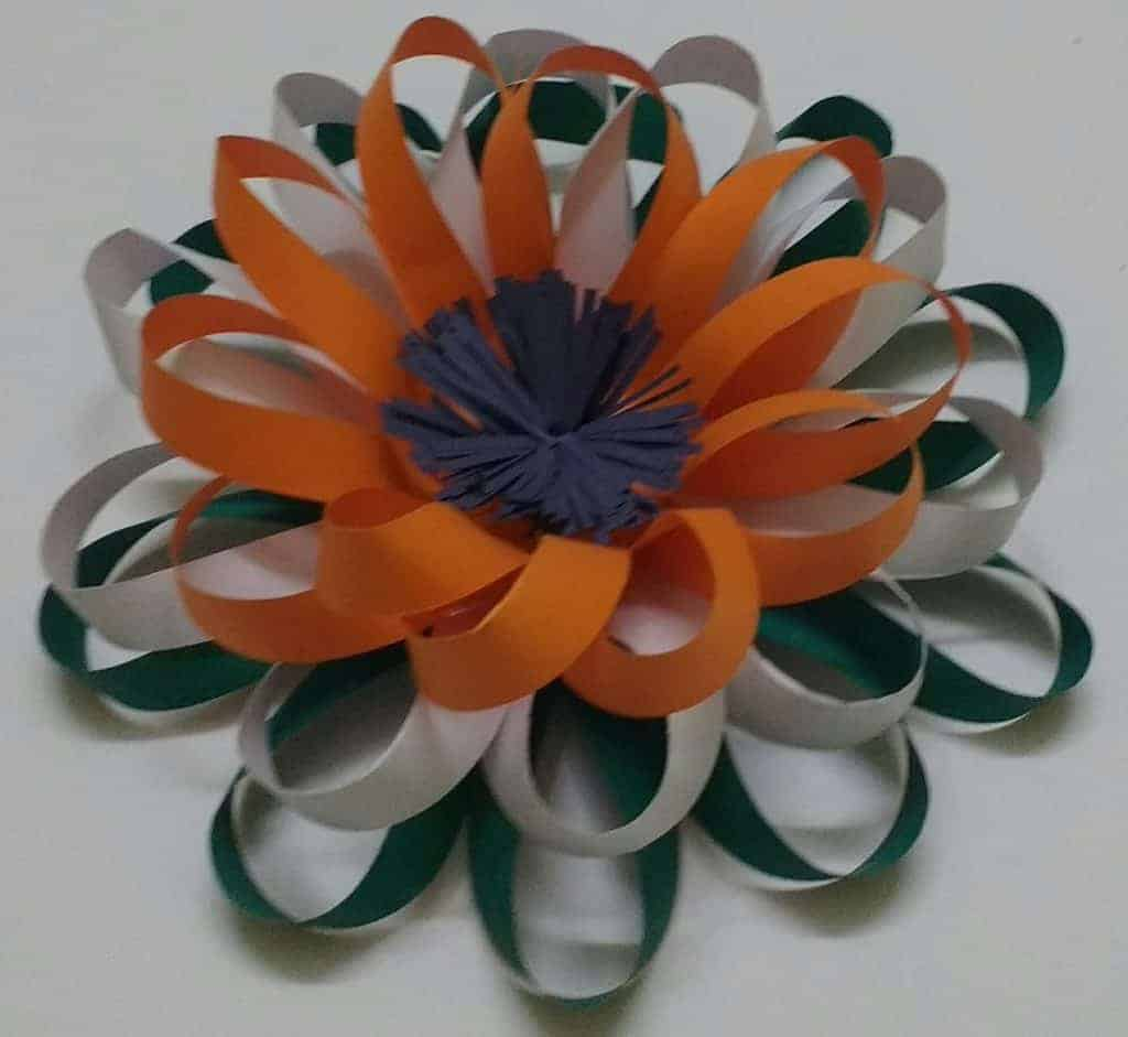 Fine how to make flowers with paper strips motif wedding and luxury flowers made from paper strips embellishment wedding and mightylinksfo