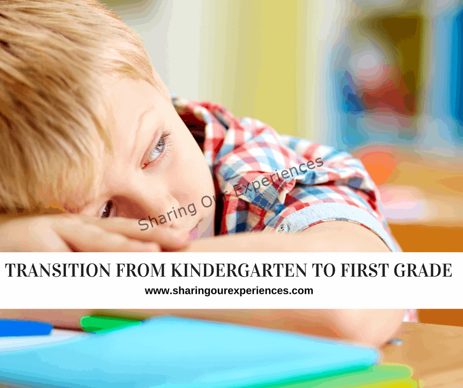 Transition from kindergarten to first grade 2