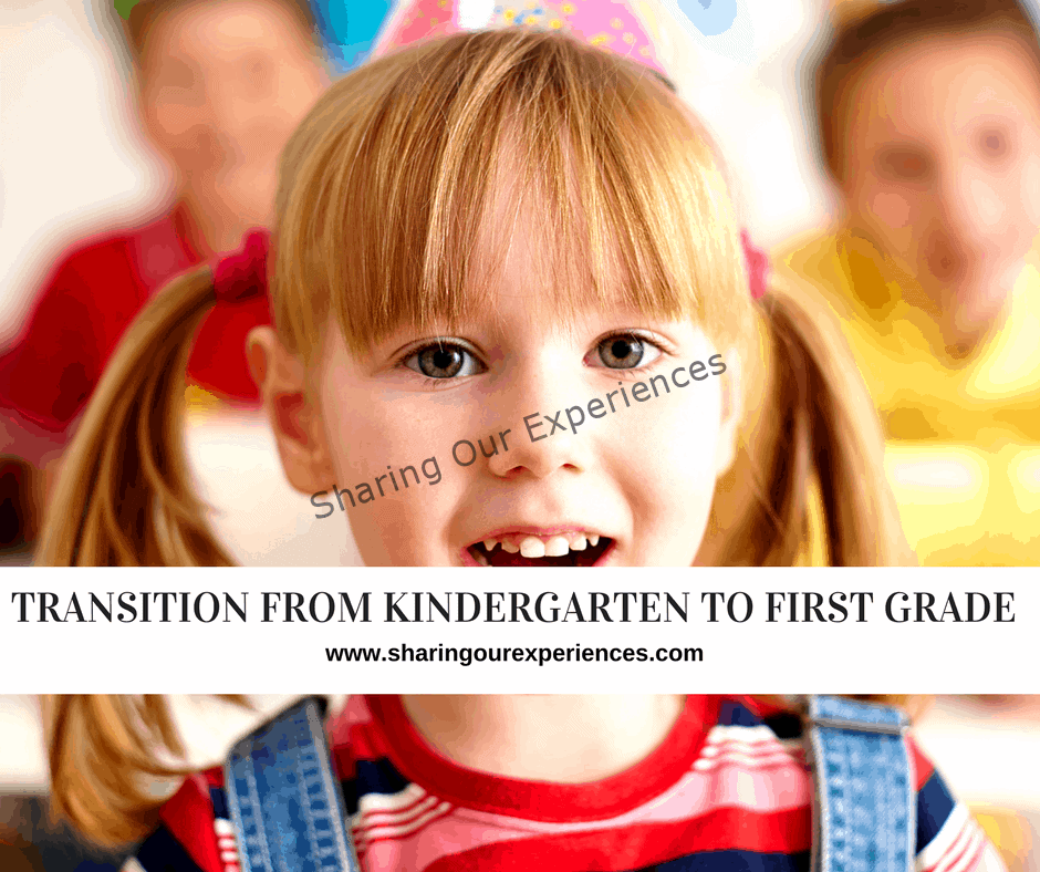 Transition from kindergarten to first grade