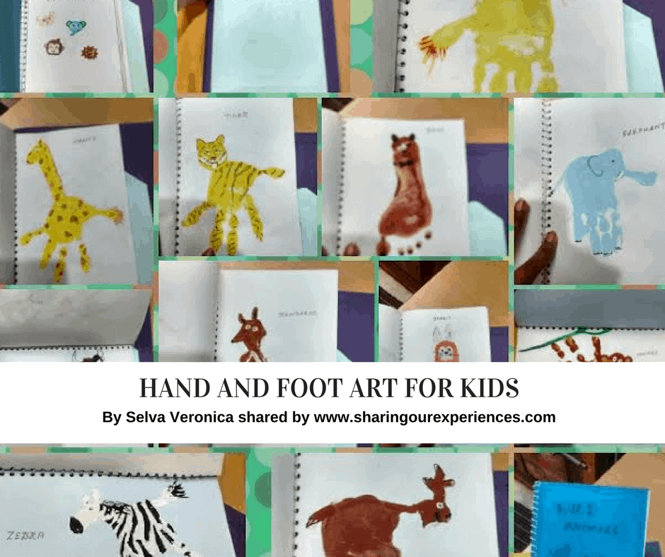 Hand and Foot art Selva Veronica