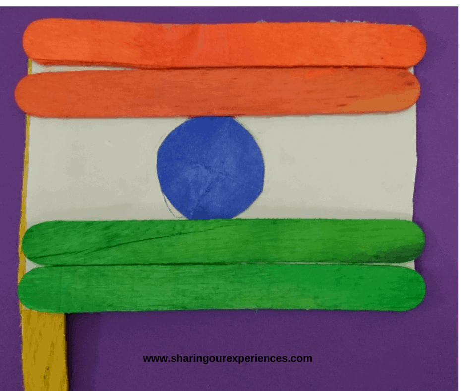 diy flag with popsicle sticks