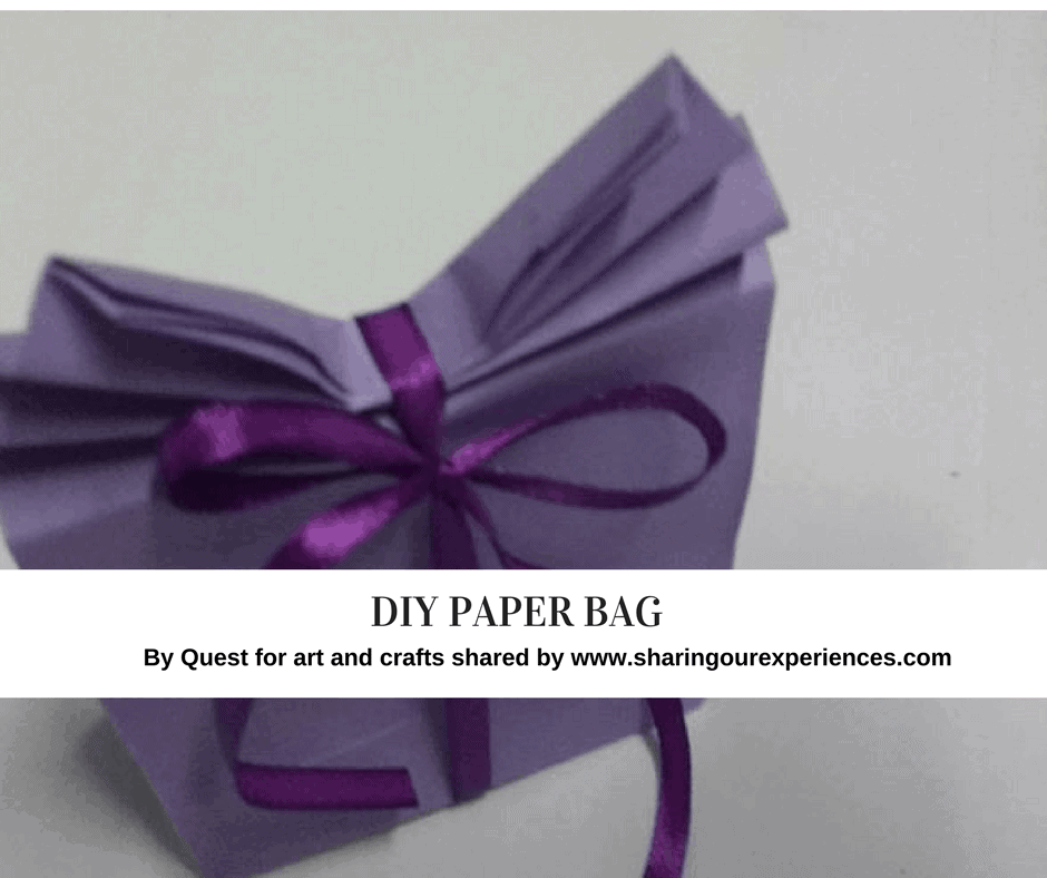 how to make paper bags at home step by step