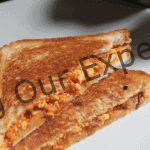 Paneer & Cheese Sandwich Recipe