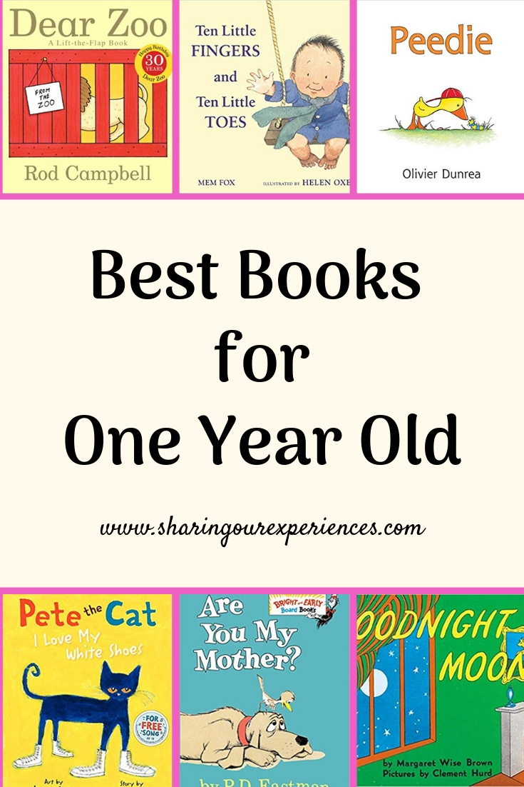 Best books for one year old