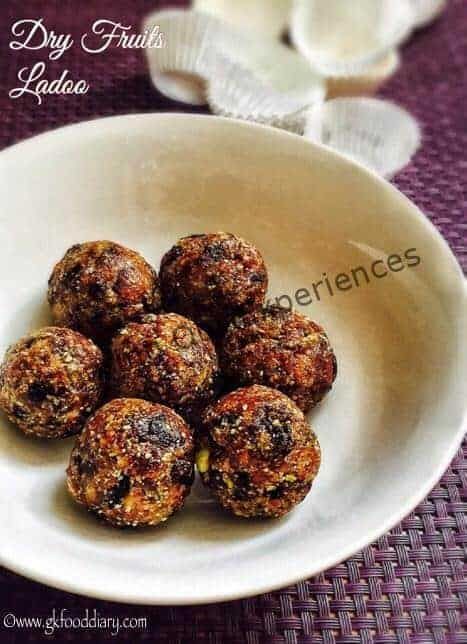 Dry fruits laddu recipe