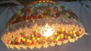 Paper quilling lamp