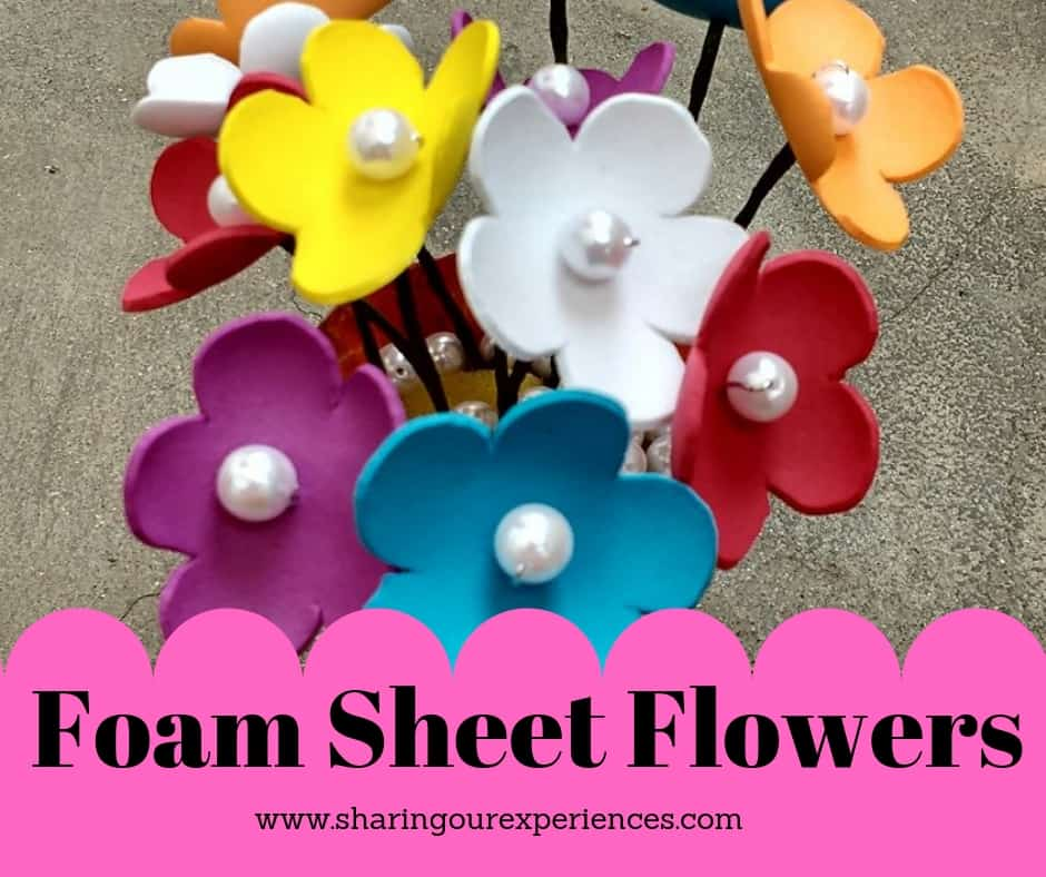 Foam sheet Flowers