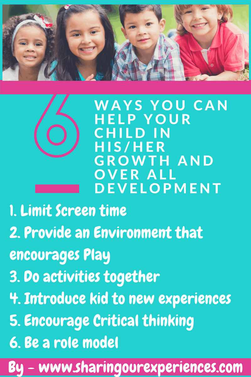 How to contribute to your child's growth and development