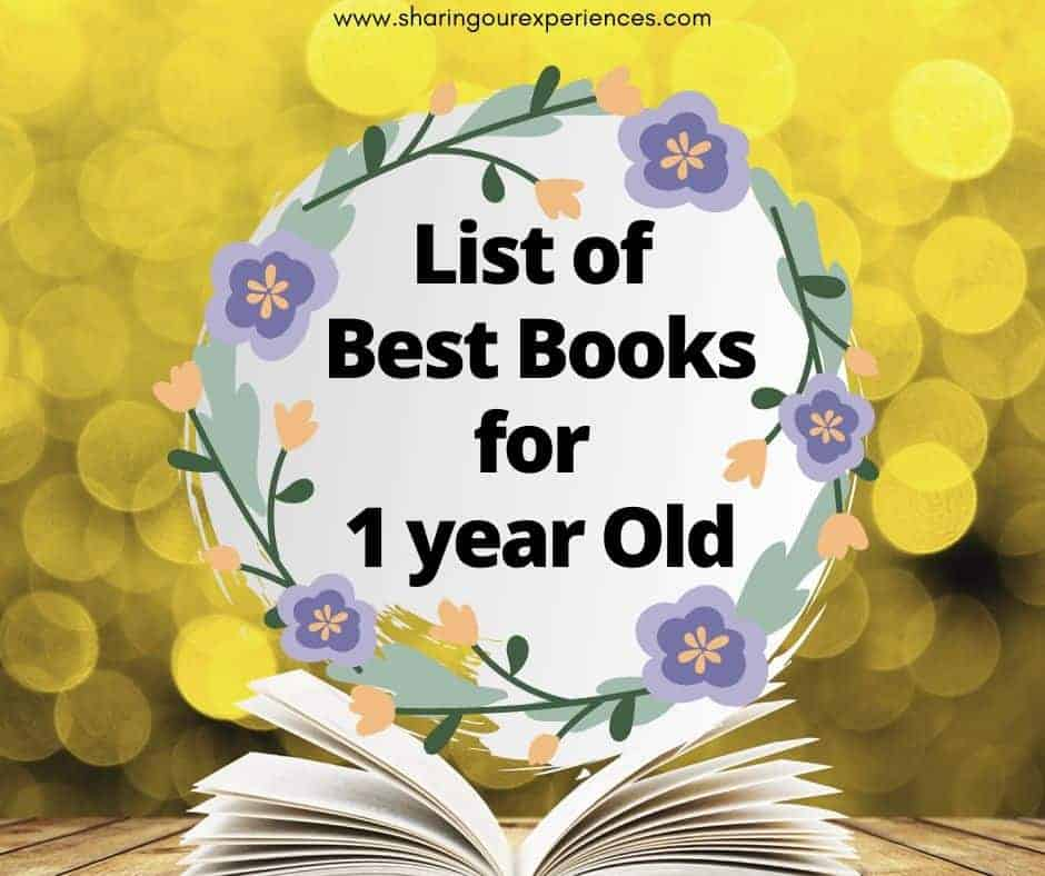 List of best books for One year old