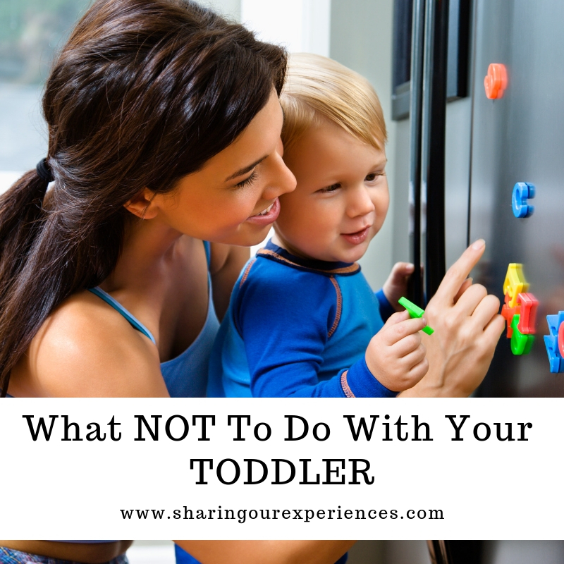 What NOT To Do With Your Toddler