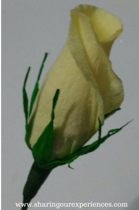 How To Make Crepe Paper Rose Buds Sharing Our Experiences