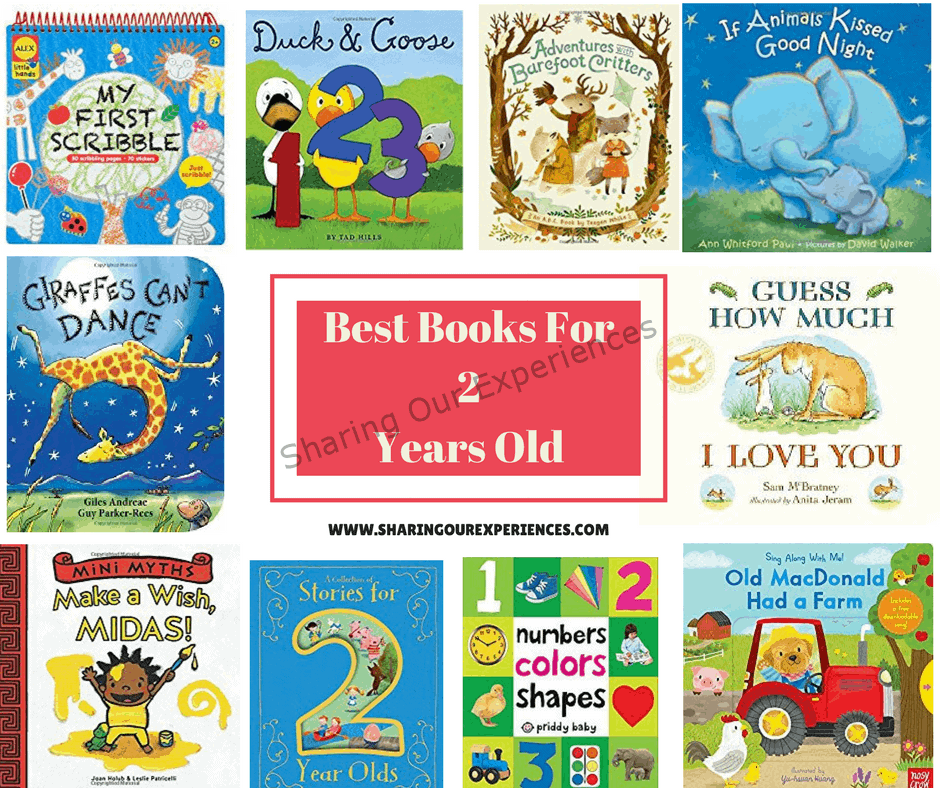 Best Books for 2 year old kids