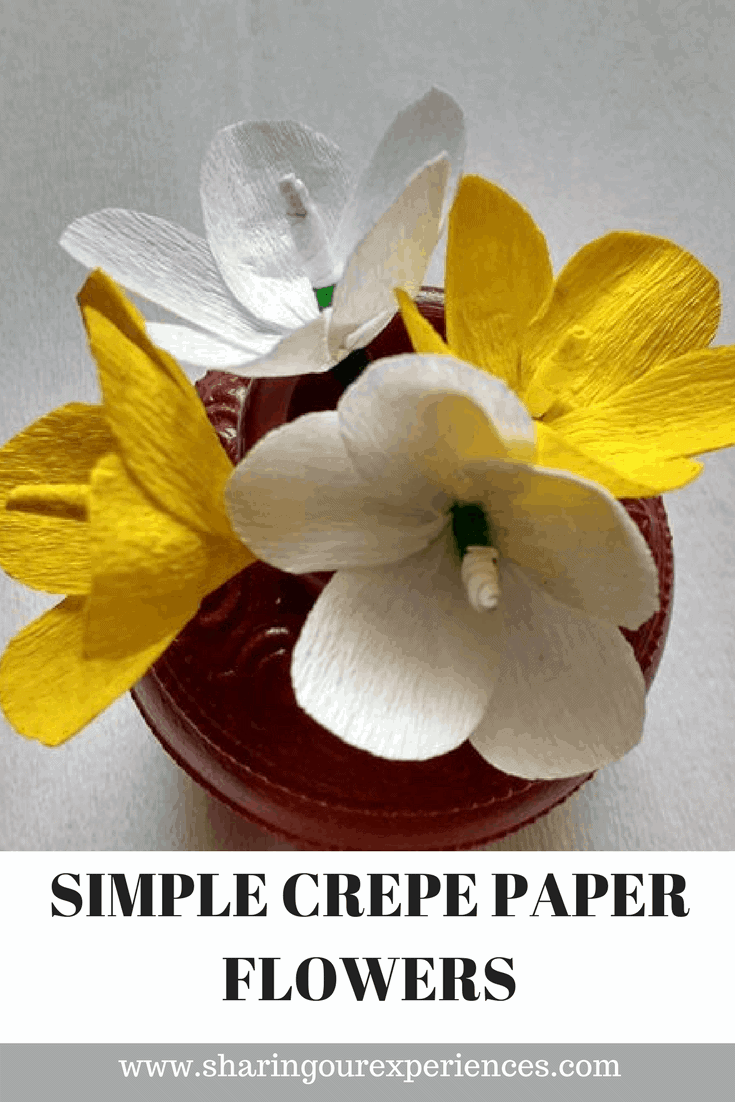 How To Make Easy Crepe Paper Flowers Sharing Our Experiences