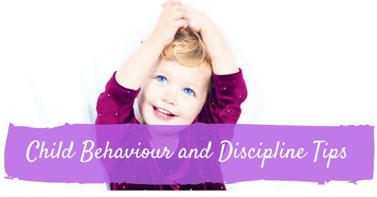 Child Behavior and Discipline Tips