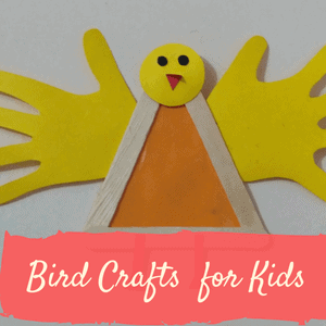 bird crafts for kids