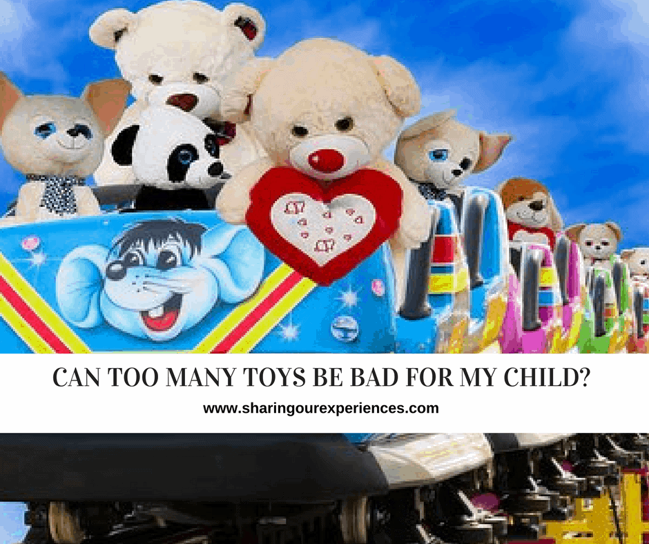 can too many toys for my child and limit his growth and creativity