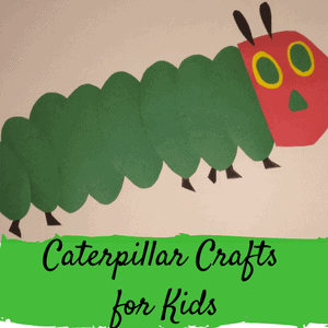 caterpilllar crafts for kids