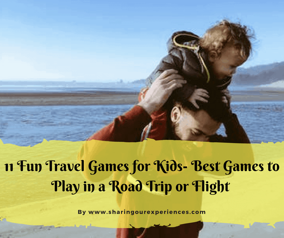 11 fun travel games for kids - best games to play on a road trip or flight