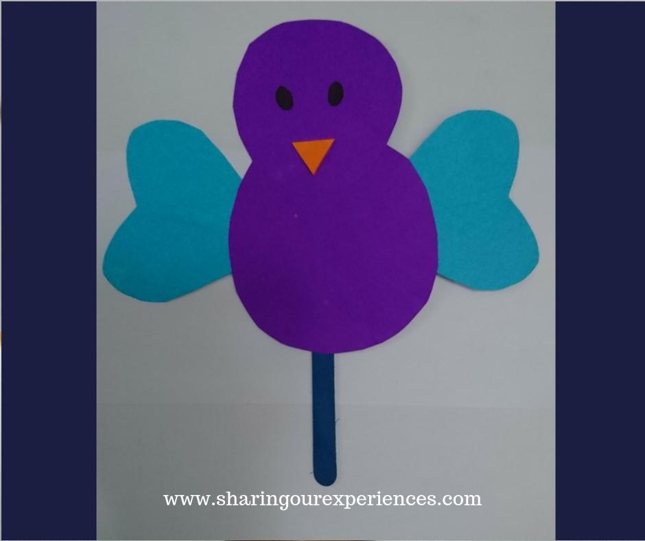 Bird Puppet for kids