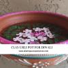 clay urli pot for Diwali