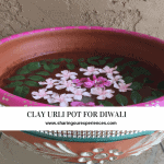 clay urli pot for Diwali