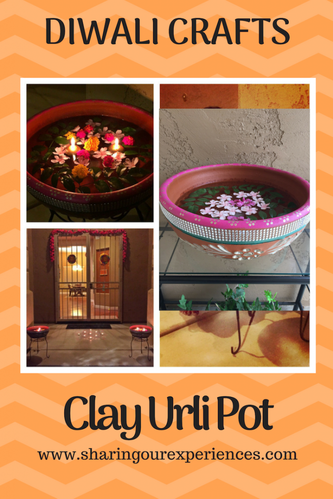 Clay Urli pot home decor ideas Diwali