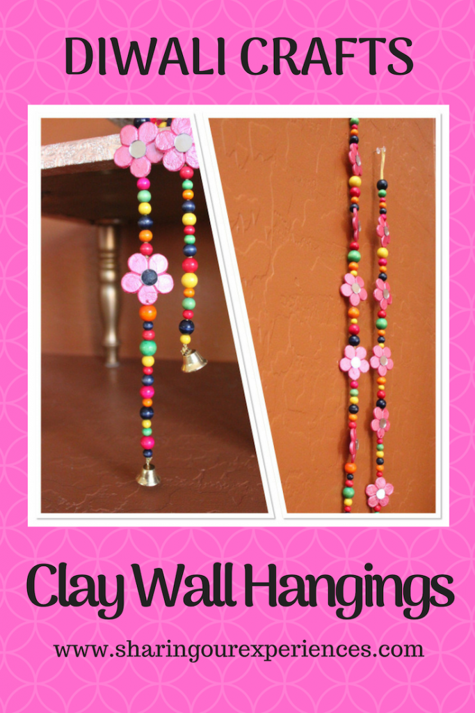 Clay wall Hanging Easy home decor Diwali craft