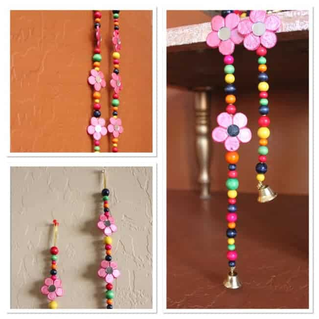 ... Easy Buy Stuff From India, But I Was Itching For A Project And Decided  To U201cDIYu201d And Here Is The Result U2013 A Cute And Traditional Flower String Door/wall  ...