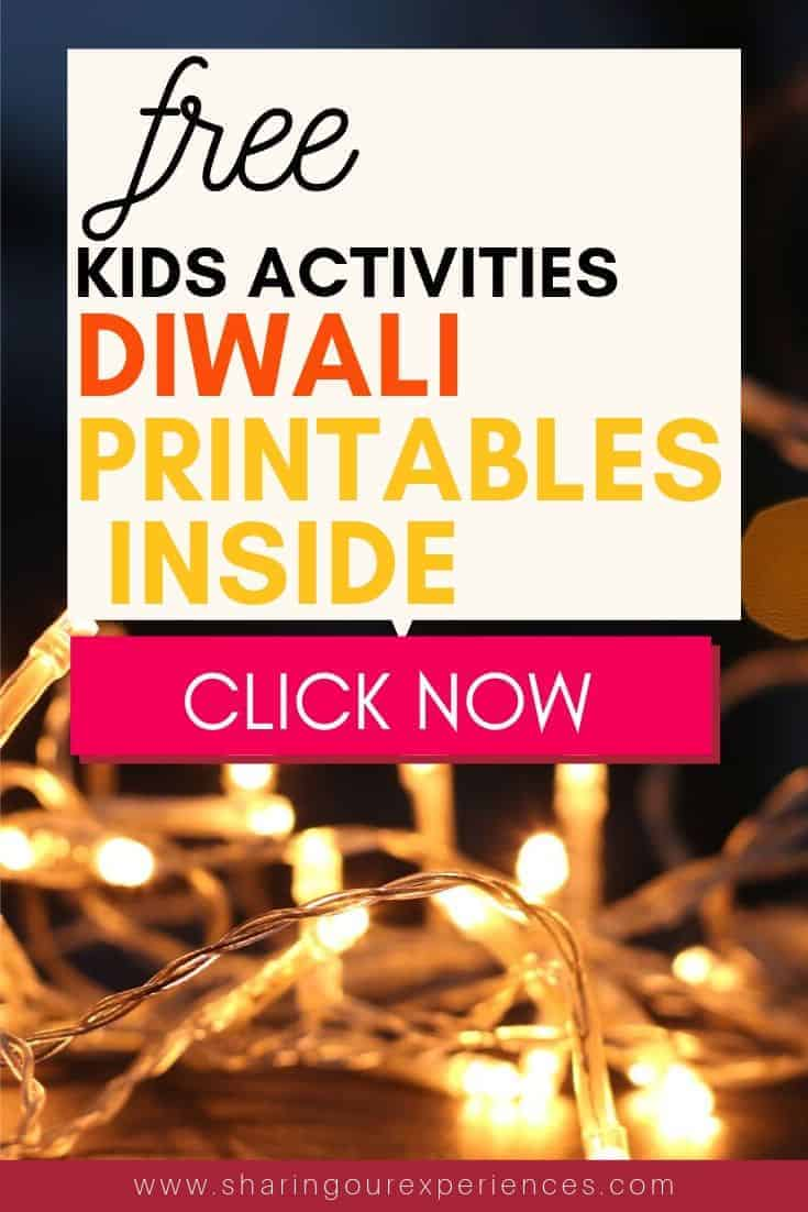 diwali Activities for kids free diwali printables for kids